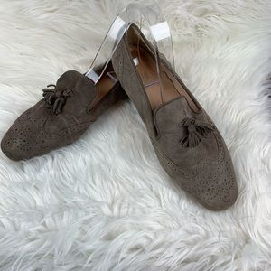 J. Crew Taupe Georgie Loafers with Tassels 8
